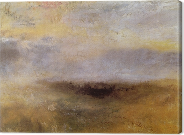 Leinwandbild William Turner - Seestück mit aufkommendem Sturm - Reproduktion