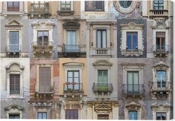 Leinwandbild Windows von Sizilien