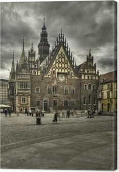 Leinwandbild Wroclaw-rynek