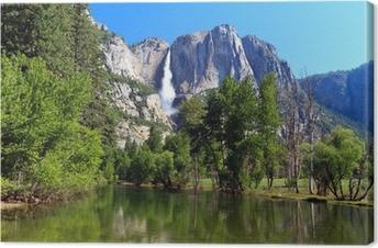 Leinwandbild Yosemite Fall