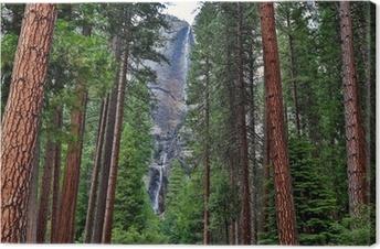 Leinwandbild Yosemite falls