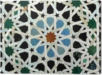 Leinwandbild Zelliges (Fes, Marokko)