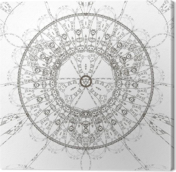 Leinwandbild Zusammenfassung alte alchimistische Symbol • Pixers ...