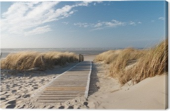 Lerretbilde Nordsee Strand auf Langeoog