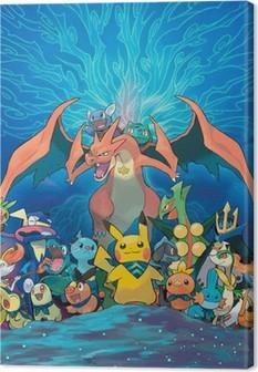 Lerretbilde Pokemon