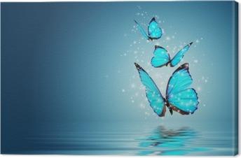 Lerretbilde Sommerfugl
