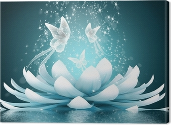 Lerretbilde Vakker Lotusblomst
