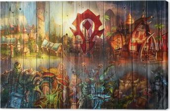 Lerretbilde World of Warcraft