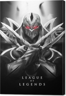 Lerretbilde Zed - Legends League