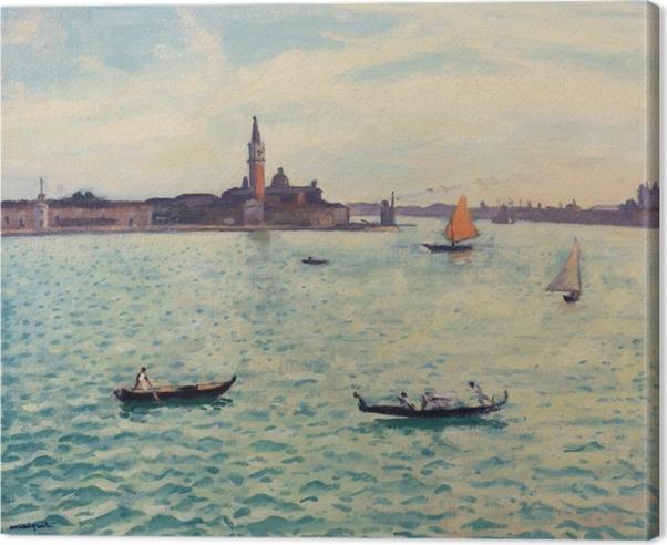 Lerretsbilde Albert Marquet - Venedig - Reproductions