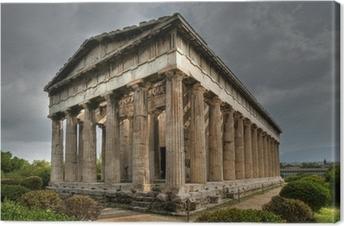 Lerretsbilde Ancient Temple of Hephaistos, Athen