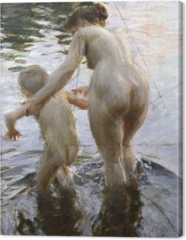 Lerretsbilde Anders Zorn - Første gang