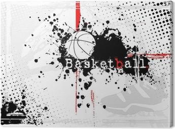 Lerretsbilde Basketball Bakgrunn