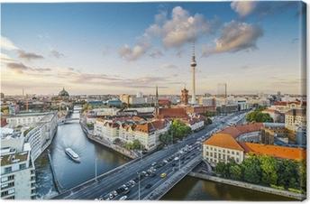 Lerretsbilde Berlin, Tyskland Ettermiddag Bybild