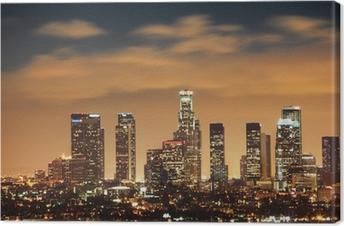 Lerretsbilde Downtown Los Angeles skyline