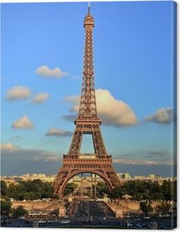 Lerretsbilde Eiffeltårnet, Paris