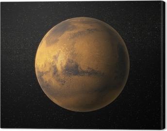 Lerretsbilde Et syn på planeten Mars