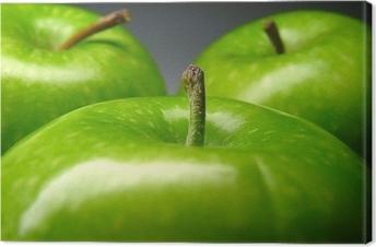 Lerretsbilde Grønt eple