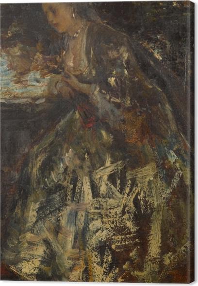 Lerretsbilde Jacob Maris - Den lille Marquise - Reproductions