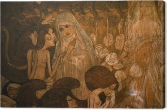 Lerretsbilde Jan Toorop - De tre bruder II