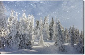 e3bcaac0 Lerretsbilde Søt hipster isbjørn med briller og jule genser • Pixers ...
