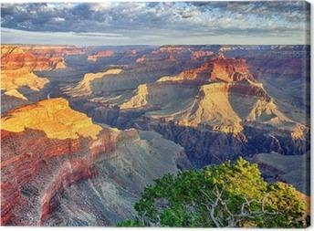 Lerretsbilde Morgenlys på Grand Canyon