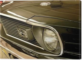 Lerretsbilde Mustang