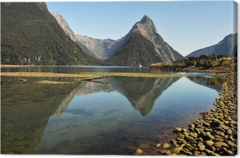 Lerretsbilde New Zealand Fiordland