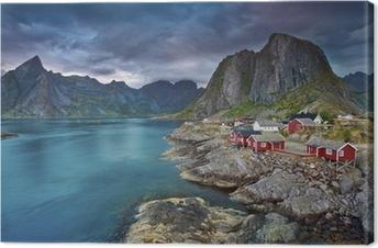Lerretsbilde Norge