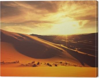 Lerretsbilde Ørken