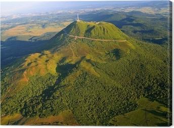Lerretsbilde Puy de dome og Parc des Volcans d'Auvergne