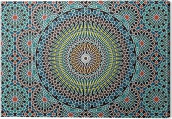 Lerretsbilde Razil maurisk sømløs mønster