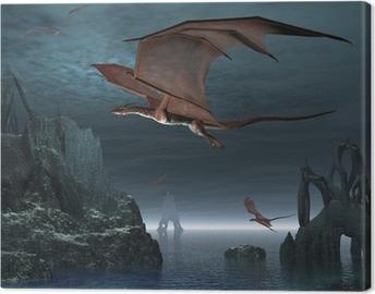 Lerretsbilde Red Dragon Islands