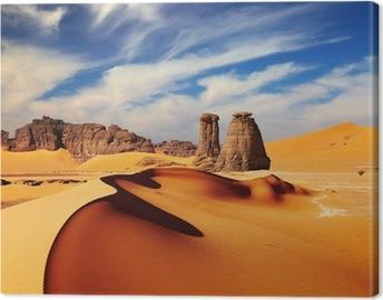 Lerretsbilde Sahara ørkenen, Algerie