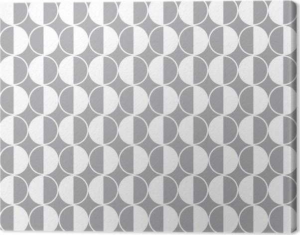 Lerretsbilde Sømløs geometrisk vektor mønster bakgrunn - Finans
