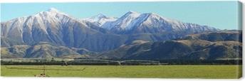Lerretsbilde Sørlige alpina alper i New Zealand