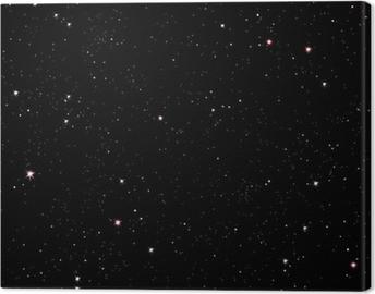 Lerretsbilde Stjerneklar natt