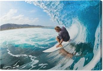 Lerretsbilde Surfing