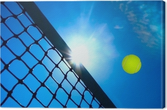 Lerretsbilde Tennis konsept