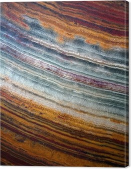 Lerretsbilde Texture av gemstone onyx