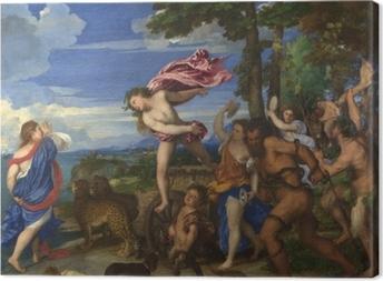 Lerretsbilde Tizian - Bacchus og Ariadne