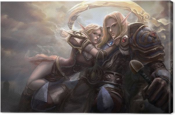 Lerretsbilde World of Warcraft -