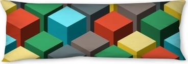 Lichaamskussen Naadloze geometrische abstracte patroon. vectorillustratie