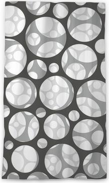 Lichtdurchlässiger Fenstervorhang Vektor nahtlose Muster. Moderne stilvolle 3D-Textur von Mesh.