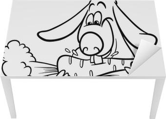 Havuç Boyama Ile Lop Tavşan çerçeveli Poster Pixers Haydi