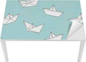 Masa Çıkartması Kağıt tekne kalıbı