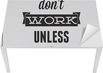 Mat- och Skrivbordsdekor Motivational affisch