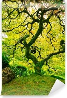 Mural de Parede em Vinil Amazing Green Tree