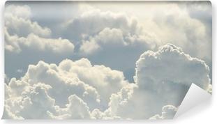 Mural de Parede Autoadesivo Céu azul e nuvens bonitas