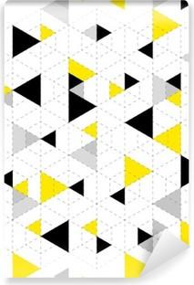 Mural de Parede Autoadesivo Fundo padrão geométrico